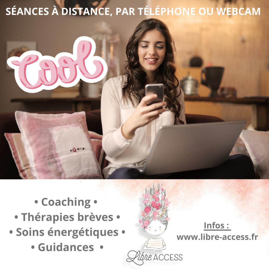 séances rdv distance webcam telephone