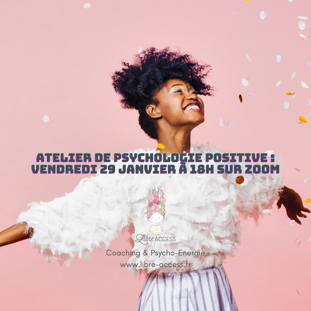 atelier psychologie positive en ligne coaching julie lancel développement personnel motivation objectif année optimisme