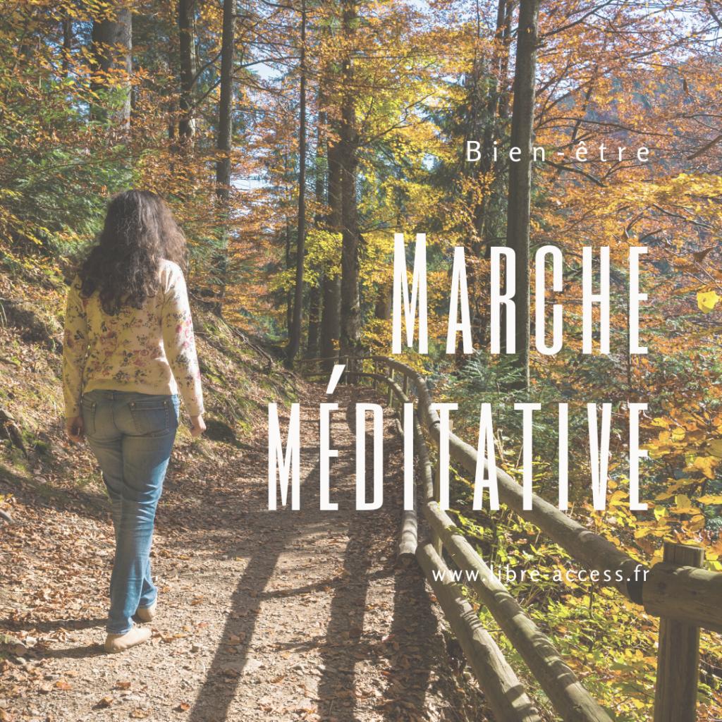 marche méditative méditer selon sa personnalité gestion du stress émotions julie lancel libre access coach en développement personnel poitiers montamisé vienne